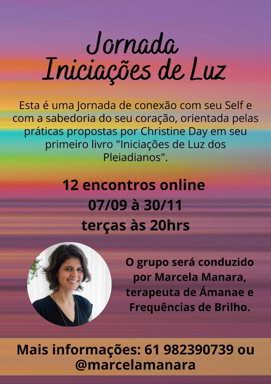 Curso – Iniciações de Luz – Com Marcela Manara